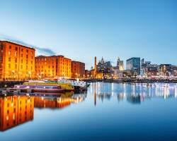 England Travel Guide essentials include a picture of the Albert docks in Liverpool