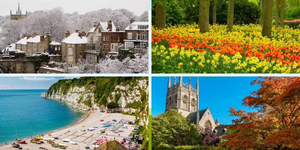 The UK in all 4 seasons