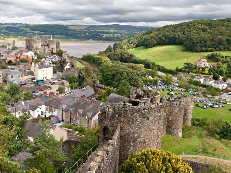 Conwy Castle in Wales one of the best places to visit in Wales