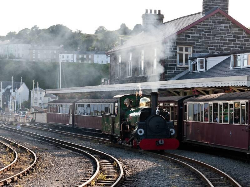 FFestiniog Railway in Wales