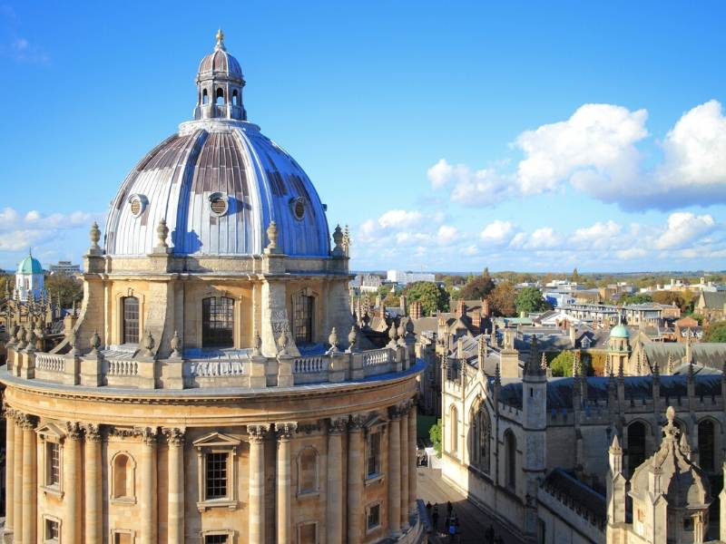 Oxford one of the best cities in England to visit