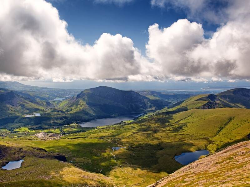 Snowdonia National Park a beautiful places to visit in Wales