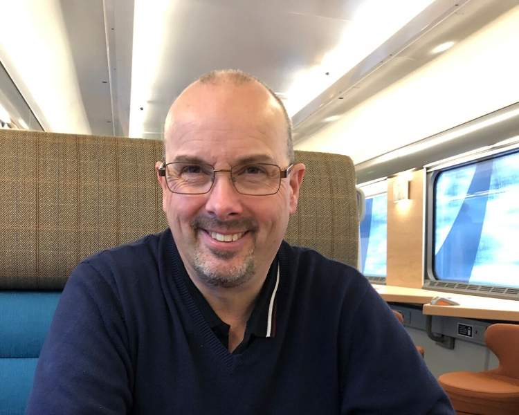 Doug Collins on the Caledonian Sleeper
