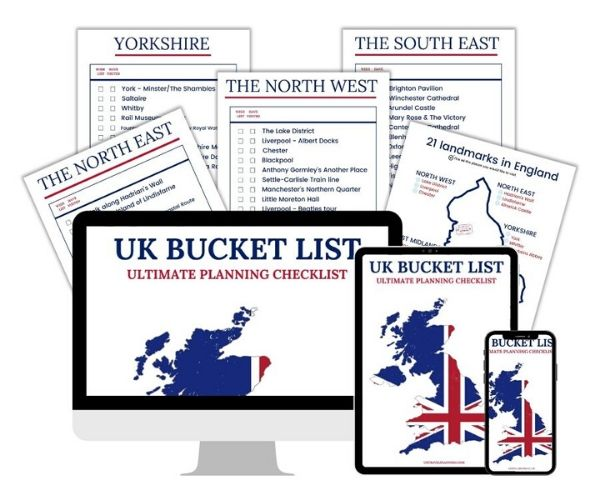 UK Travel Planning checklists