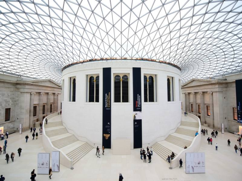 The British Museum is located near some of the best hotels in Bloomsbury
