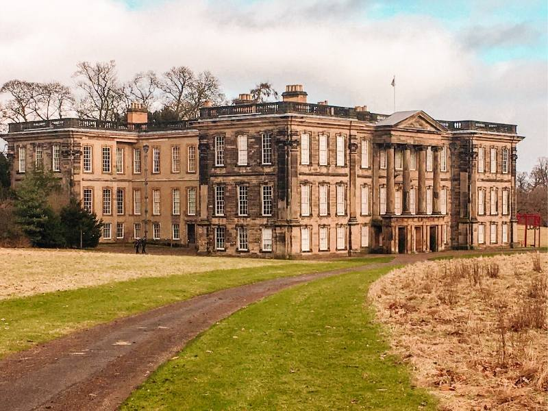 A picture of Calke Abbey one of my recommended places to visit in the East Midlands