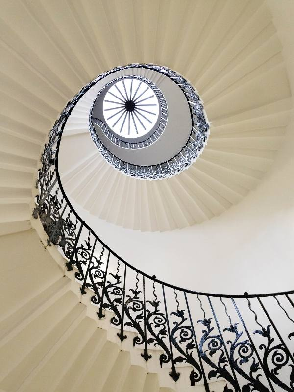The Tulip Stairs at the Queens House in Greenwich