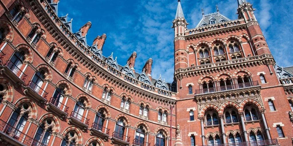 the St Pancras Hotel in London one of my recommended hotels in my London Accommodation Guide