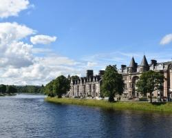 Beautiful Inverness features in many Scotland accommodation guides.