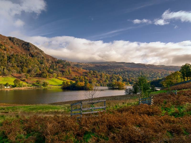A view over Rydal in the Lake District