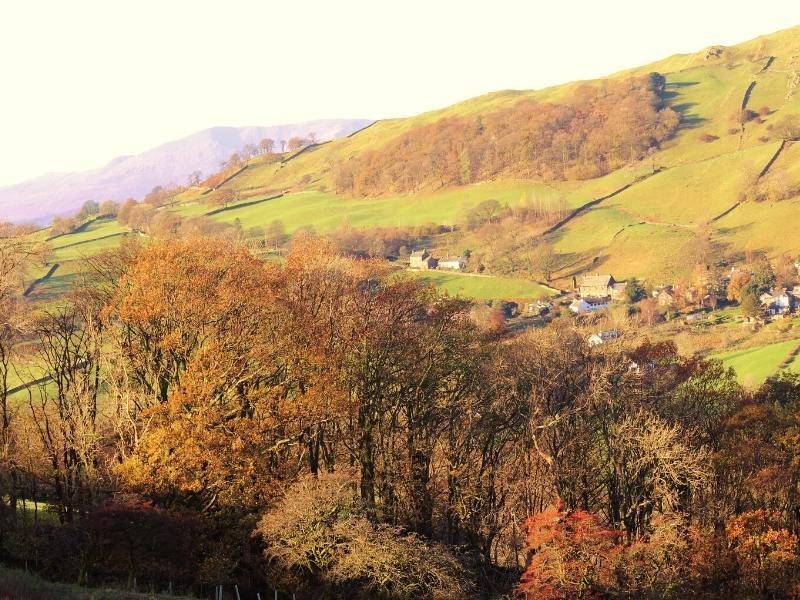 A view of Troutbeck in the Lake District