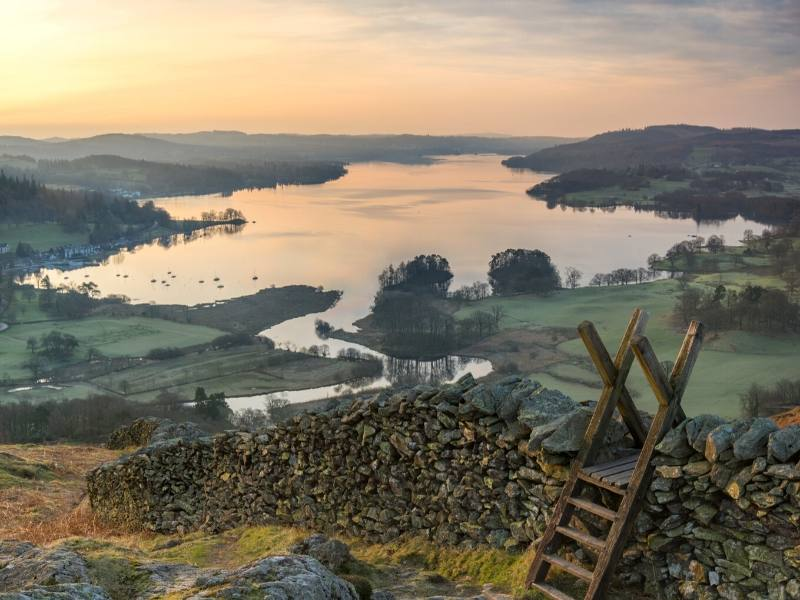 A view over Lake Windermere