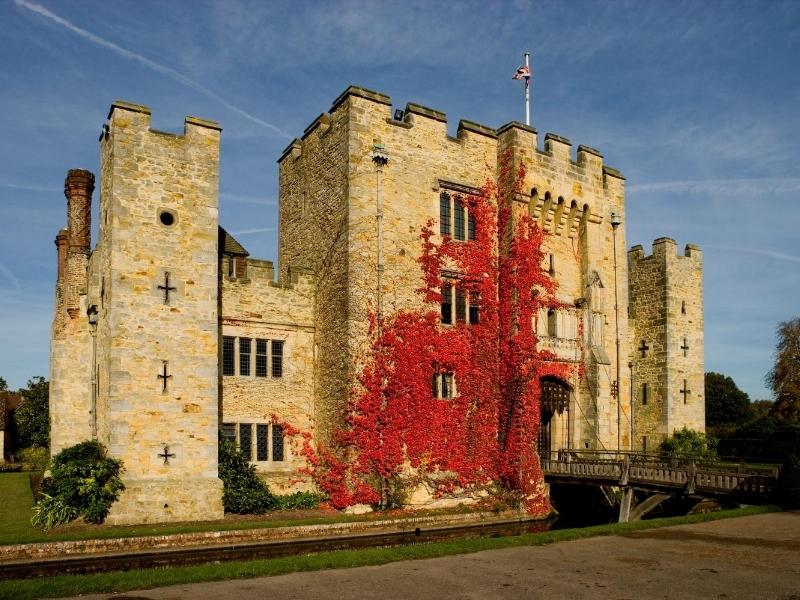 Hever castles one of the most famous castles in England