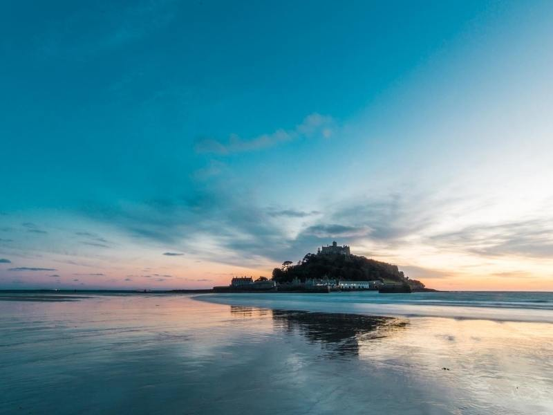 Saint Michael's Mount one of the best places to visit in South West England