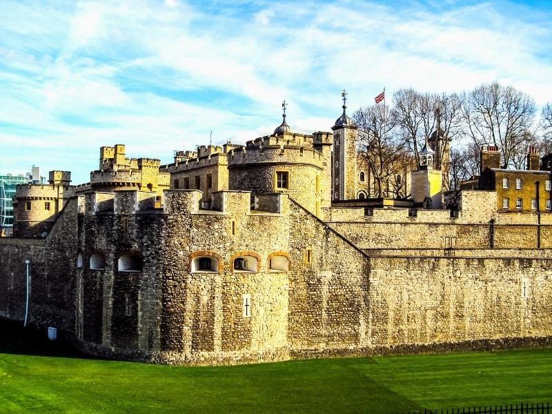 Tower of London is one of the best British castles to visit