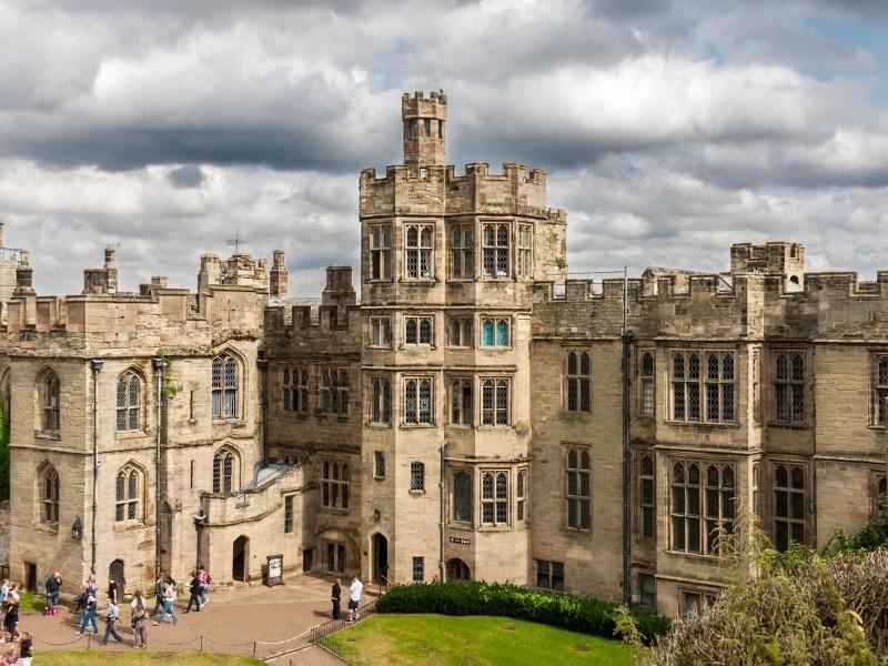 Warwick Castle one of the best castles near London to visit in the UK