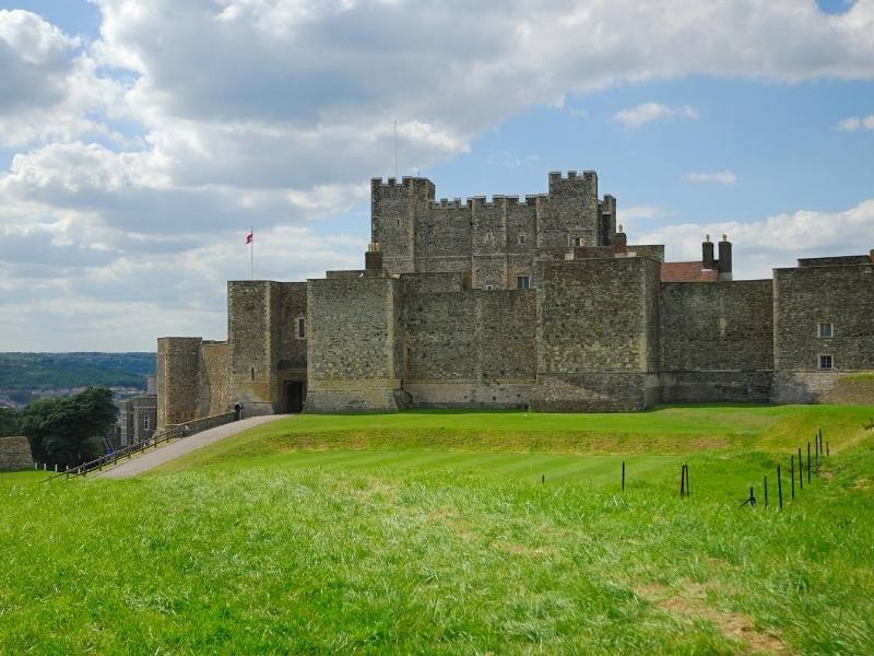 Dover Castle one of the most famous castles in England