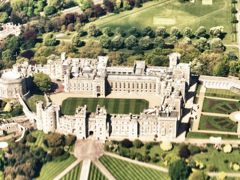 Windsor Castle home to the Queen is one of the most popular castles near London for visitors