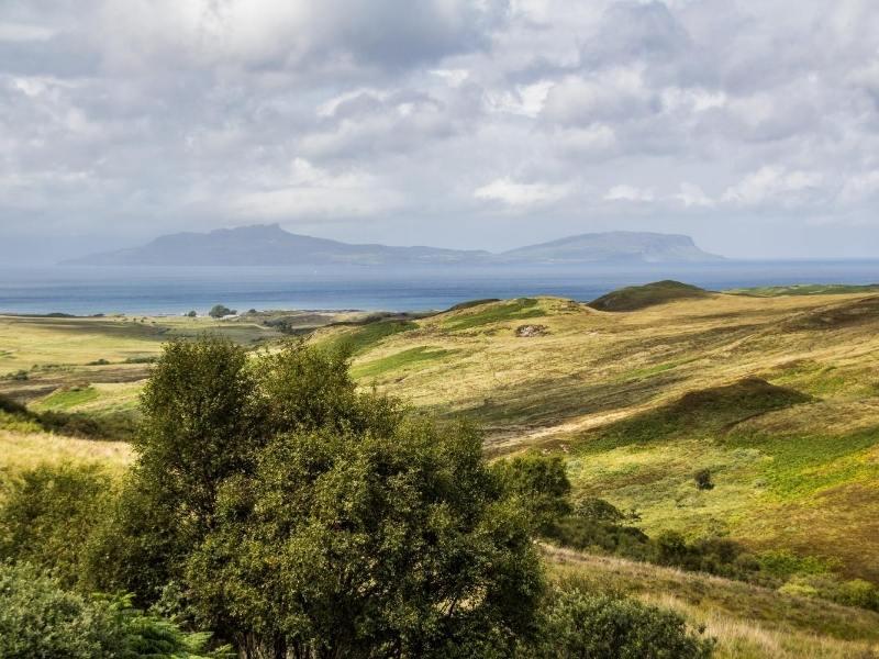 Landscape of Eigg