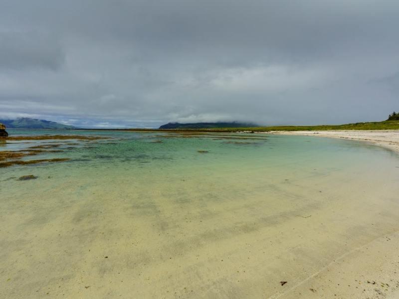 Beach on the isle of Muck