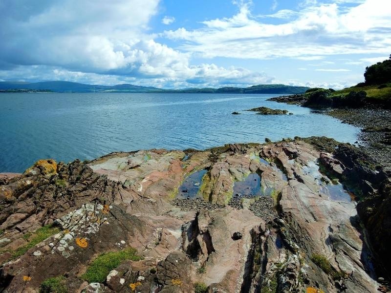 View of the isle of Bute