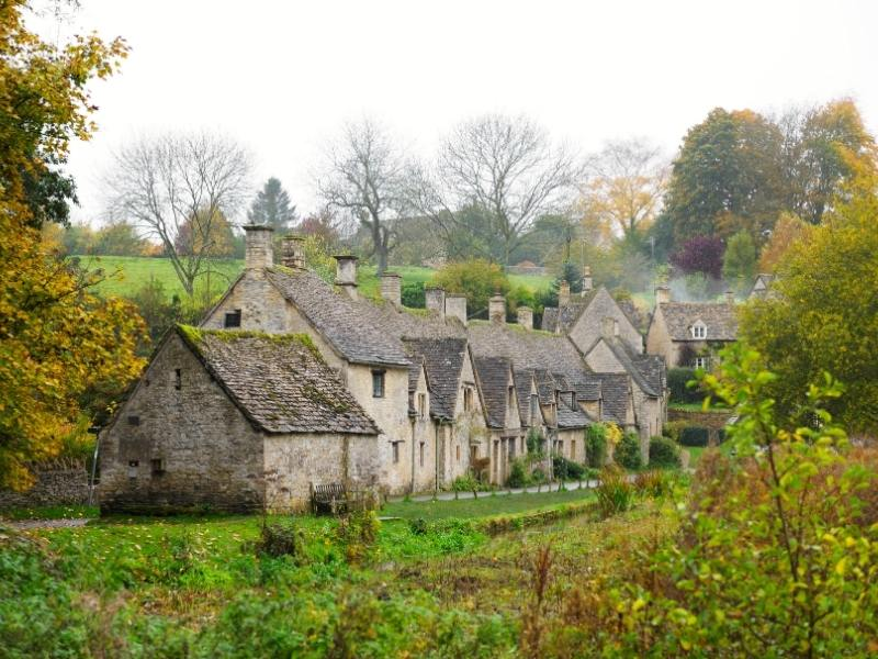Arlington Row as it say in Cotswold Travel Guide books is one of the most photographed row of houses in England