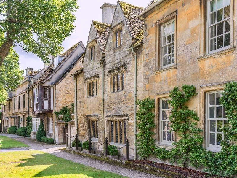 Burford in the Cotswolds.