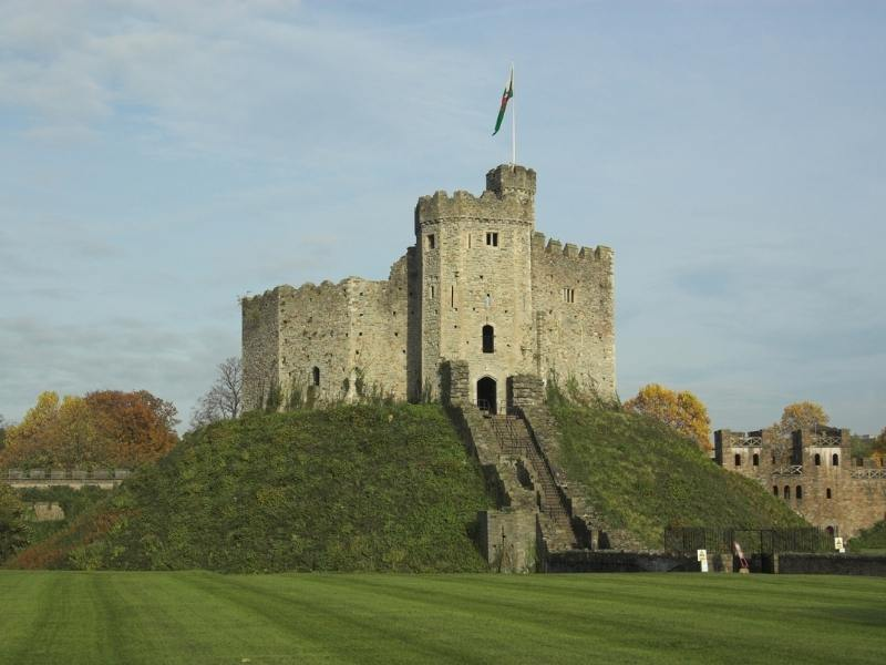 Cardiff Castle one of the best castles in Wales to visit