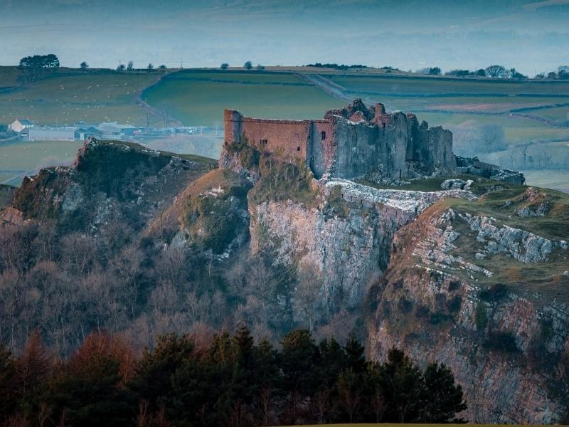 Carreg Cennen Castle one of the best castles in Wales to visit