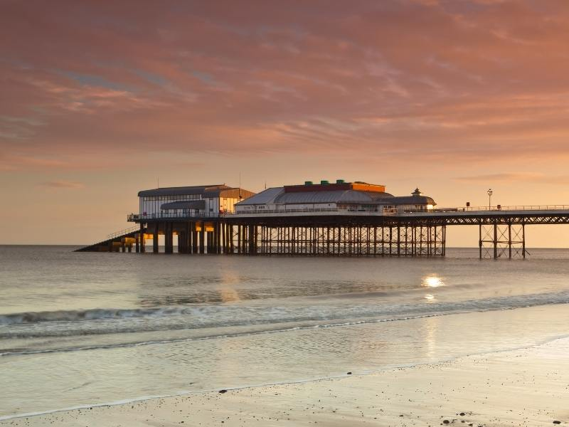 Cromer pier is one of the most beautiful PLACES TO VISIT IN THE EAST OF ENGLAND