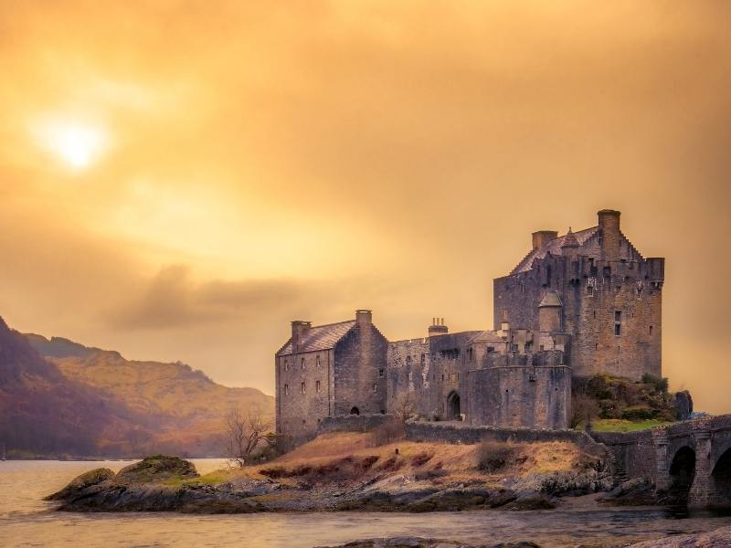 Eilean Donan one of the best castles in Scotland