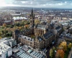 The city of Glasgow which features in many Scotland Travel Guides.