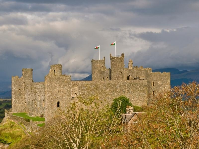 Harlech Castle one of the best castles in Wales to visit