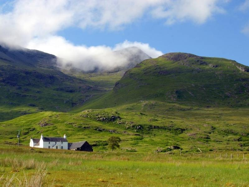 The island of Mull in Scotland