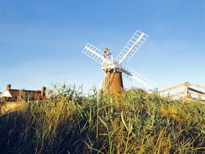 Windmill in Norfolk