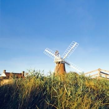 Windmill in Norfolk England