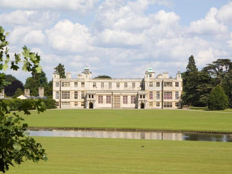 Audley End house one of the best PLACES TO VISIT IN THE EAST OF ENGLAND