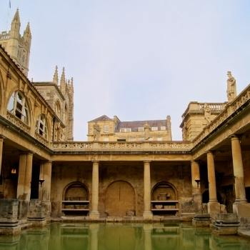 Bath Travel Guide picture of the Roman Baths in the city