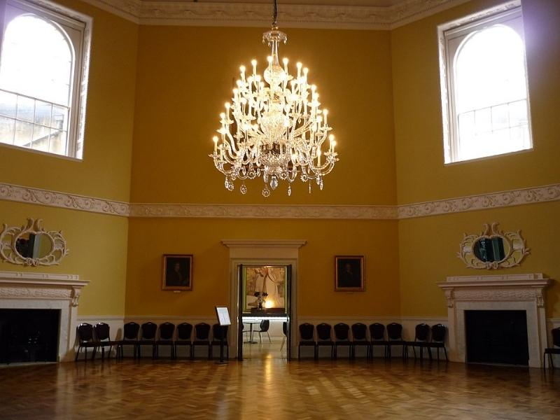 The Assembly Rooms in Bath England