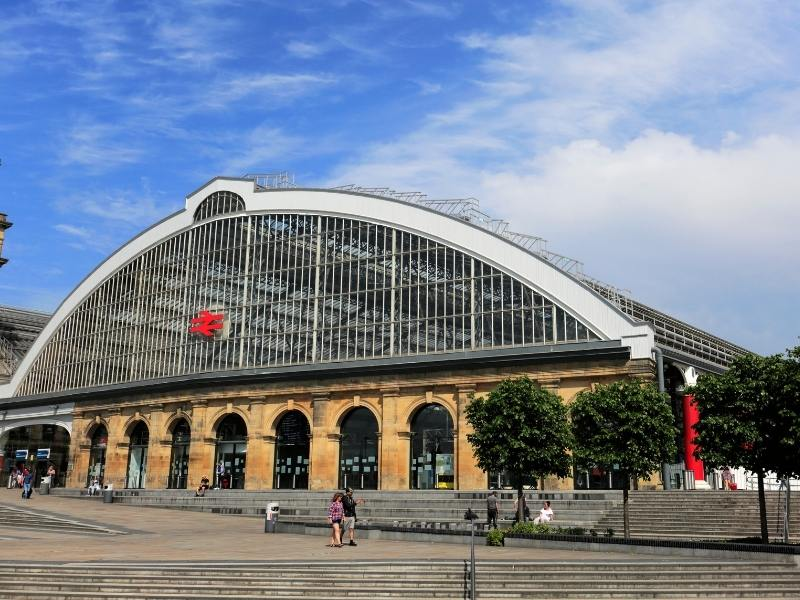Liverpool Lime Street Station as seen in many Liverpool Travel Guides is the main train station in the city