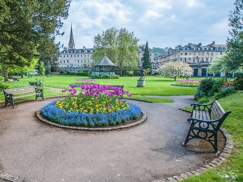 Parade Gardens in England