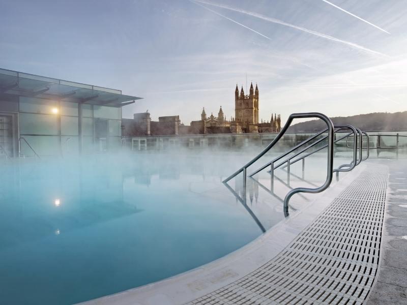 Thermae Bath Spa in Bath England