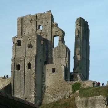 Corfe Castle Dorset Jurassic Coast