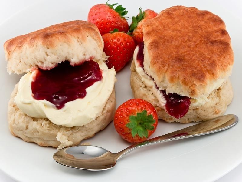 Cornish cream tea a Cornwall Travel Guide must do