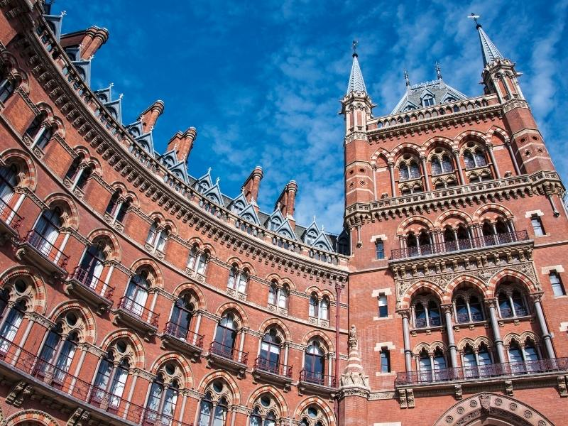 London St Pancras Hotel just one example of hotels in an UK Accommodation Guide