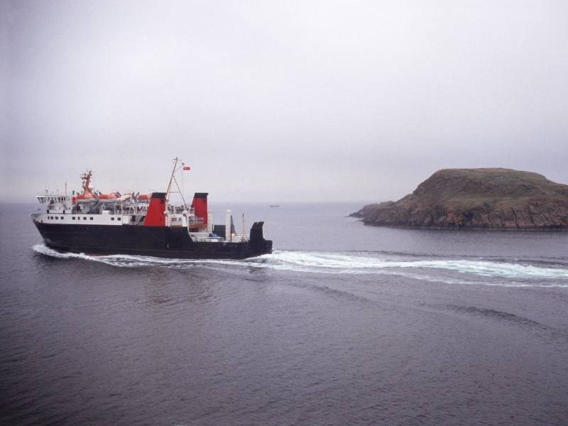 Mull Scotland ferry a method of transportation in UK