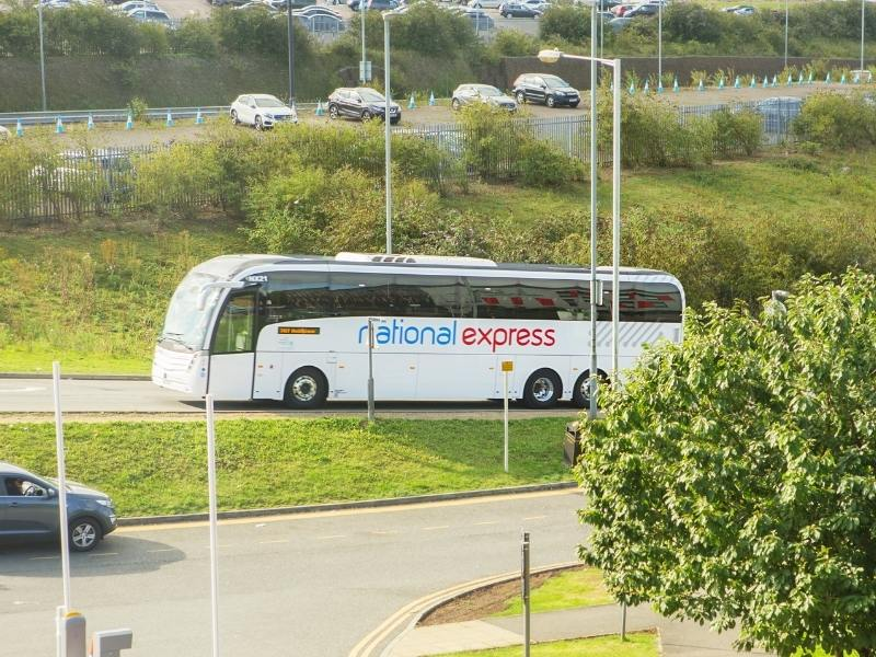 Coach - National Express transportation in UK