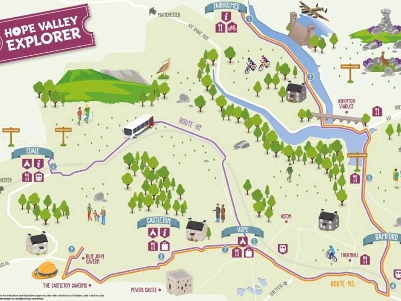 Hope Valley explorer map