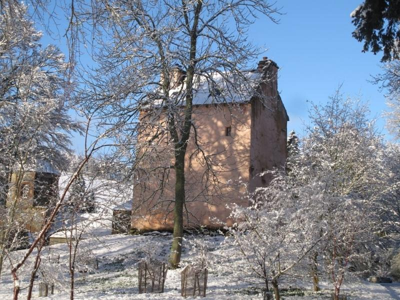 Image courtesy of Airbnb - Peebles castle - Scottish castle hotels.