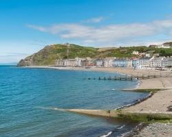 View of Aberystwyth in Mid Wales